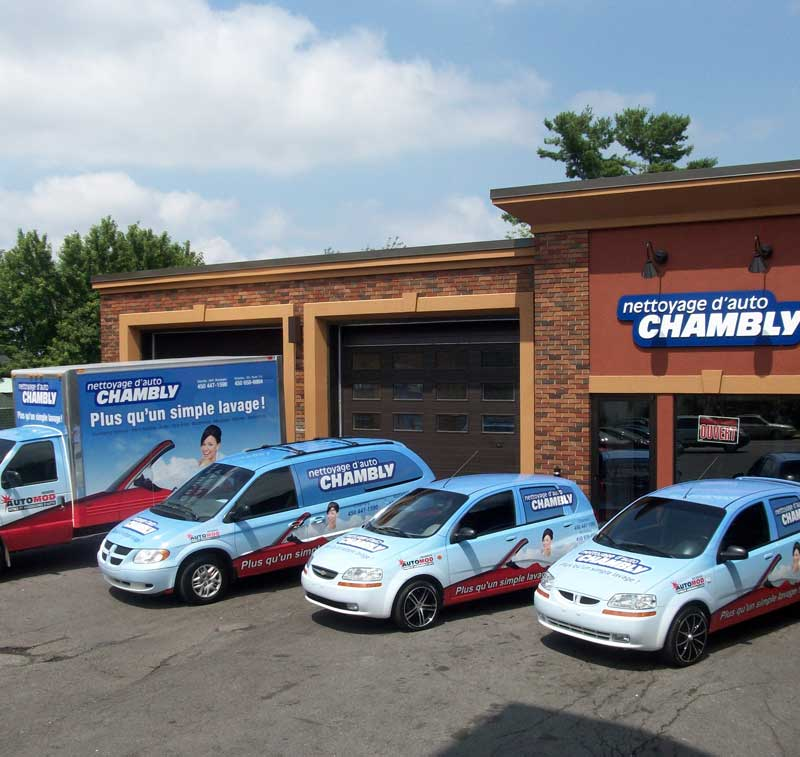 Nettoyage d'auto chambly - nous joindre